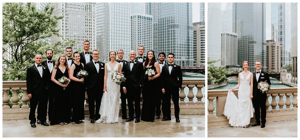 Wedding Party Photos in Chicago