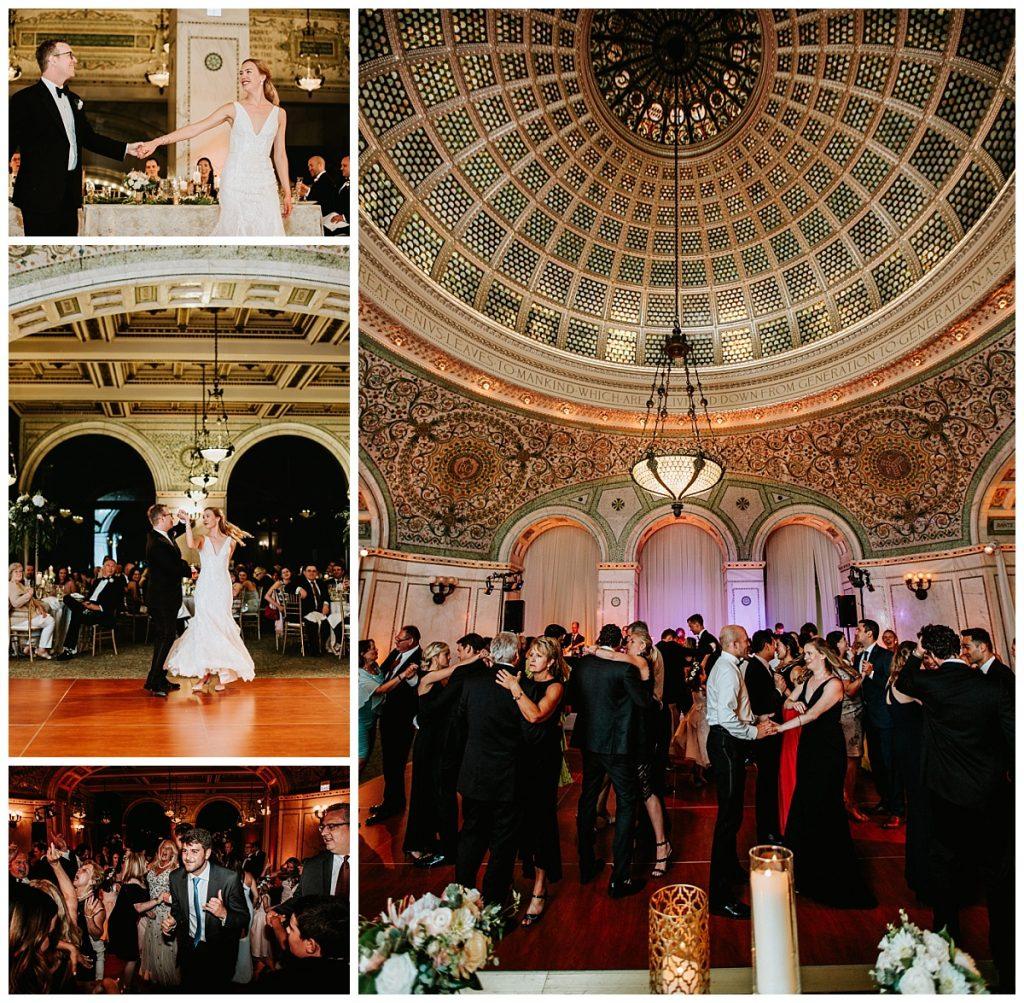 Wedding Reception at Chicago Cultural Center